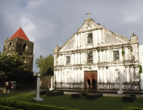 La Inmaculada Conception Church and Ruins of the Old Convent: Eastern Samar, Philippines