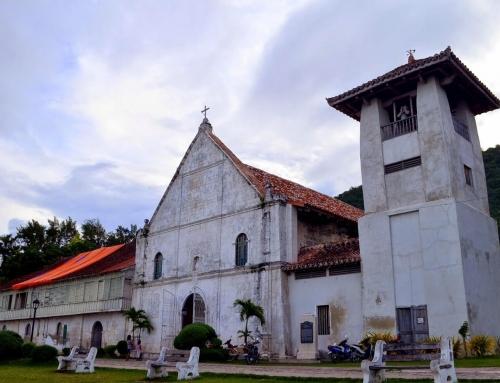 Patrocinio de Sta. Maria Church: Boljoon, Cebu, Philippines
